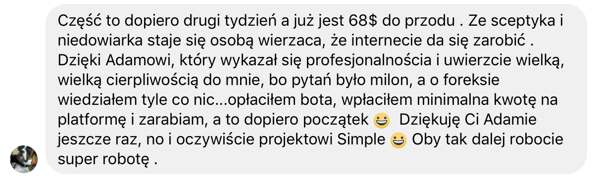 Roboty forex opinie net investment working capital
